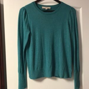 Loft Medium Teal Lightweight Sweater